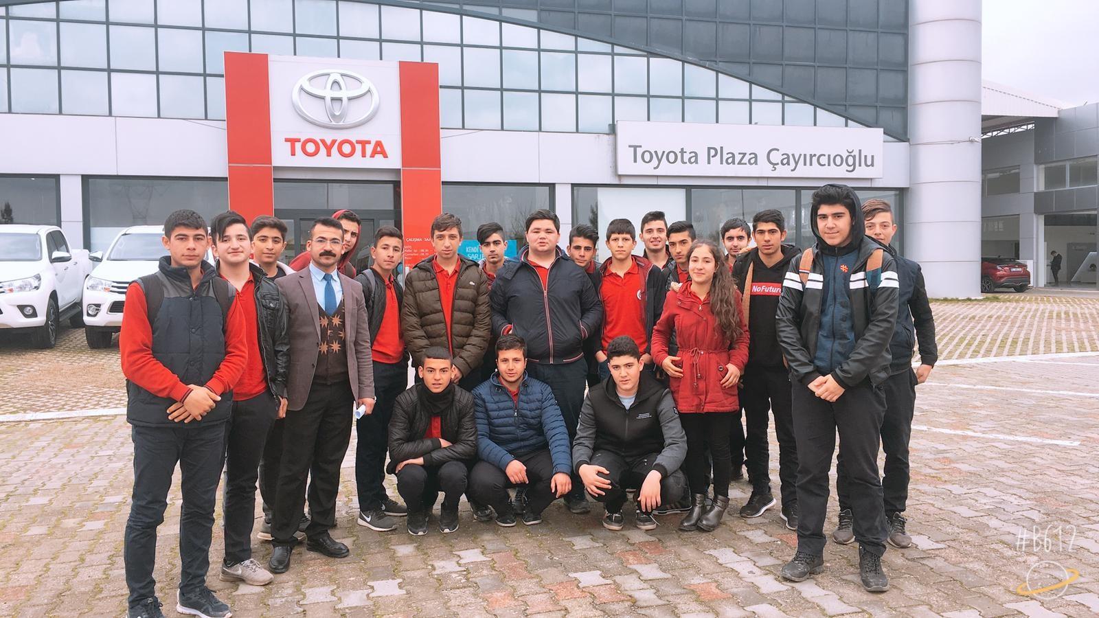 Fiat Önkol Servisi ve Toyota Plaza Ziyaretimiz